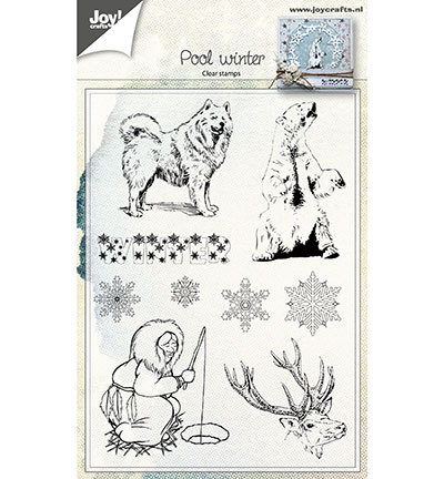 Joy! crafts - Clearstamp - Poolwinter - 6410/0462