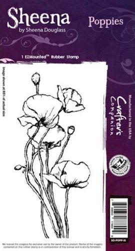Sheena Douglass - Cling Stamp - Poppies - SD-POPP-IS