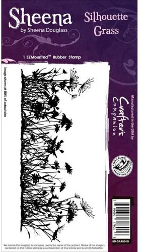 Sheena Douglass - Cling Stamp - Silhouette Grass - SD-GRASS-IS