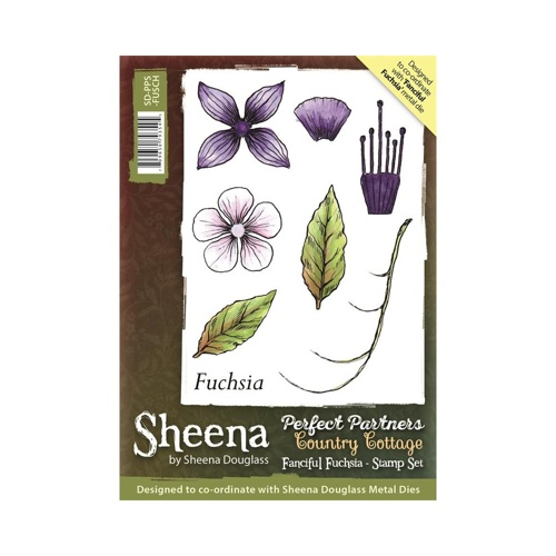 Sheena Douglass - Cling Stamp - Country Cottage - Fanciful Fuchsia - SD-PPS-FUSCH