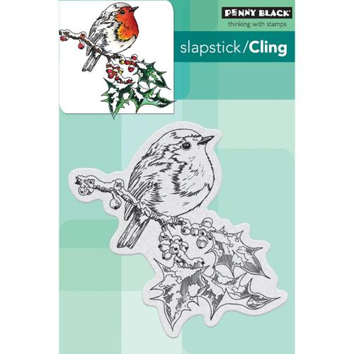 Penny Black - Cling Stamp - Overjoyed - 40-488