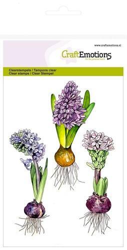 CraftEmotions - Clearstamp - Hyacinth - 130501/1270