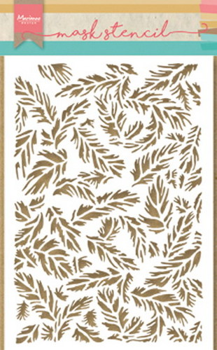 Marianne Design - Maskingstencil - Tiny`s feathers - PS8004