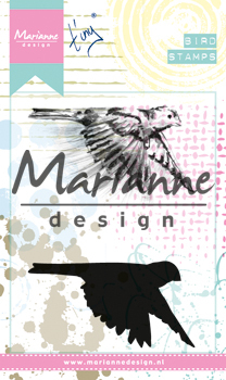 Marianne Design - Tiny`s - Cling Stamps - Birds 1 - MM1618