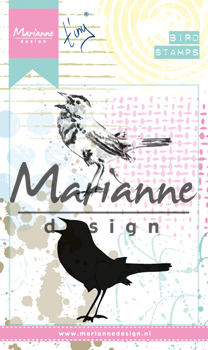 Marianne Design - Tiny`s - Cling Stamps - Birds 2 - MM1619