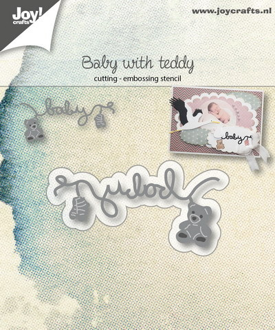 Joy! crafts - Die - Baby with teddy - 6002/1038