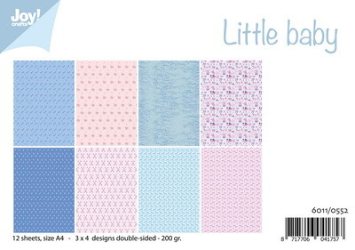 Joy! crafts - Paperset - Little Baby - 6011/0552