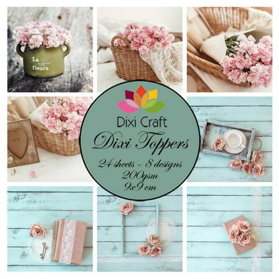 Dixi Craft - Paperpack - Shabby Chic - ET0323