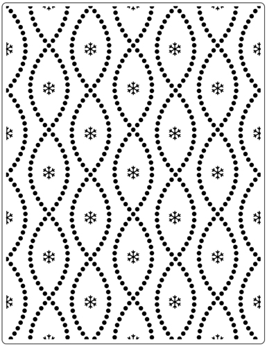 Crafts-Too - Embossingfolder - Seamless Circle - CTFD3113