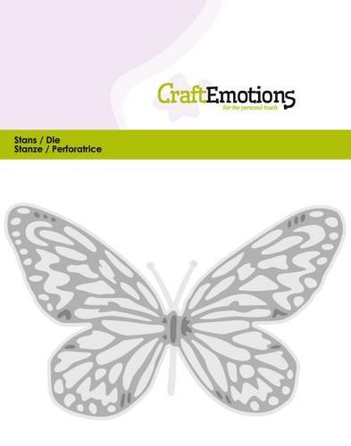 CraftEmotions - Die - Butterfly (big) - 115633/0353