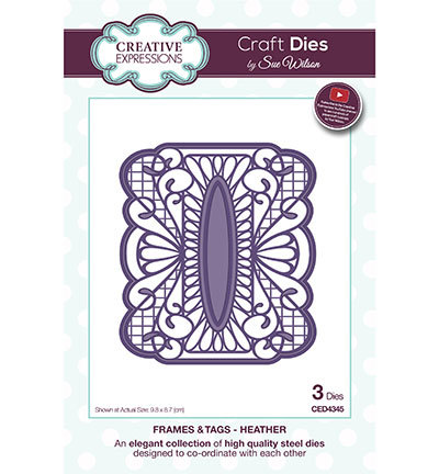 Creative Expressions - Die - The Frames & Tags Collection - Heather - CED4345