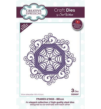 Creative Expressions - Die - The Frames & Tags Collection - Bella - CED4347
