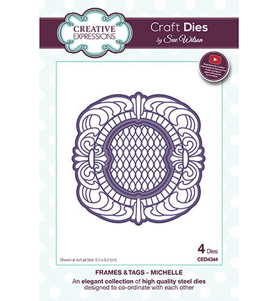 Creative Expressions - Die - The Frames & Tags Collection - Michelle - CED4344