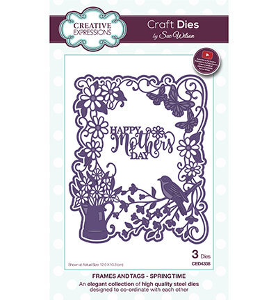Creative Expressions - Die - The Frames & Tags Collection - Spring Time - CED4338