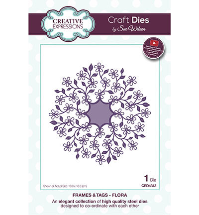 Creative Expressions - Die - The Frames & Tags Collection - Flora - CED4343