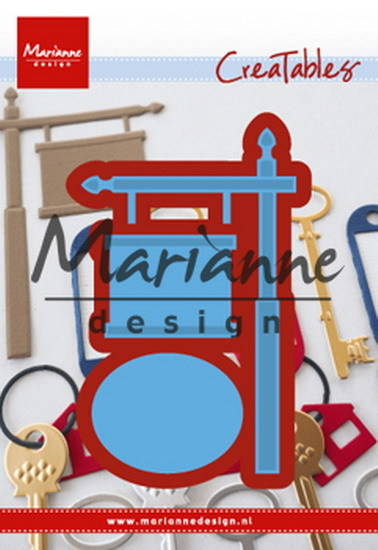 Marianne Design - Die - CreaTables - Sign Post - LR0522