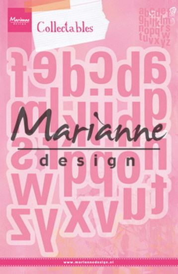 Marianne Design - Die - Collectables - Alfabet XXL - COL1449