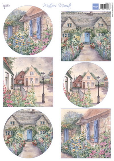 Marianne Design - Mattie - Mattie's mooiste cottages - MB0173