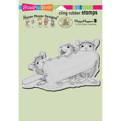 Stampendous - Cling Stamp - Ice Pop Treat - HMCP76