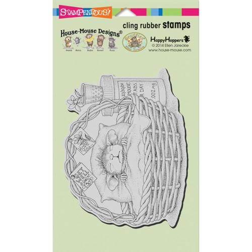 Stampendous - Cling Stamp - House Mouse - Quick Recovery - HMCR44