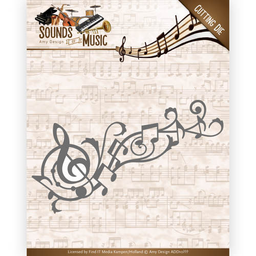 Amy Design - Die - Sounds of Music - Music Swirl - ADD10136