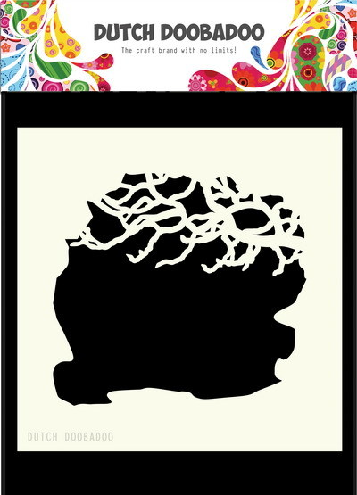 Dutch Doobadoo - Maskingstencil - Tree Branches - 470.715.606