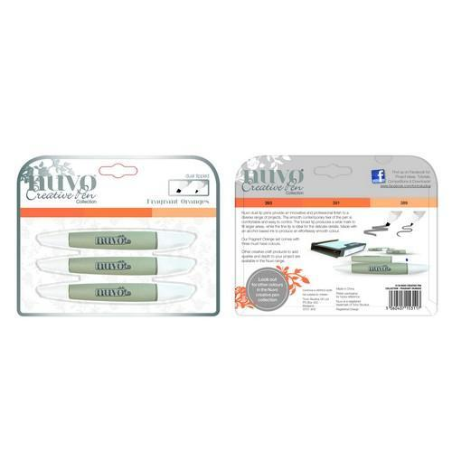 Nuvo - Alcohol Markers - Dual Tipped: Fragrant Oranges - 311N