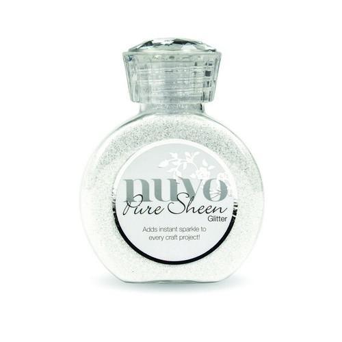 Nuvo - Pure Sheen Glitter: Ice White - 721N