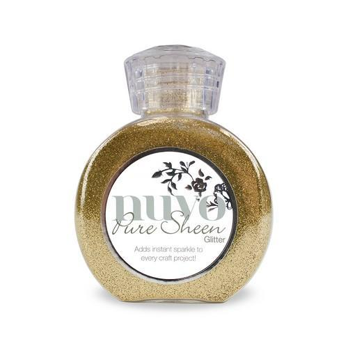 Nuvo - Pure Sheen Glitter: Light Gold - 707N
