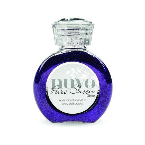 Nuvo - Pure Sheen Glitter: Purple Organza - 724N