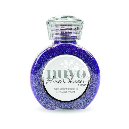 Nuvo - Pure Sheen Glitter: Violet Infusion - 723N