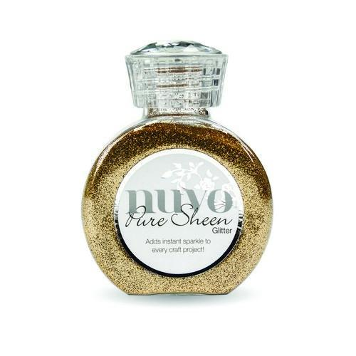Nuvo - Pure Sheen Glitter: Rose Gold - 718N