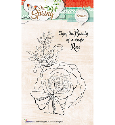 Studio Light - Clearstamp - So Spring - STAMPSS285