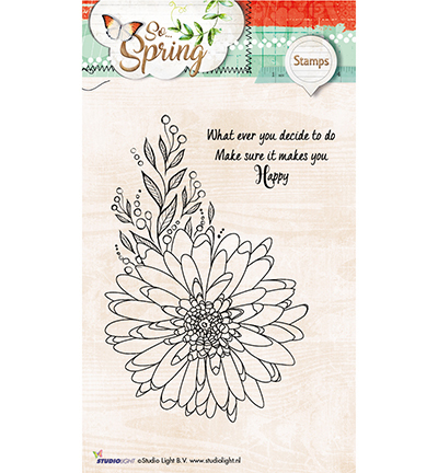Studio Light - Clearstamp - So Spring - STAMPSS284