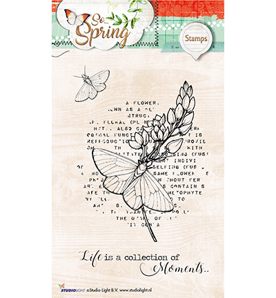 Studio Light - Clearstamp - So Spring - STAMPSS283