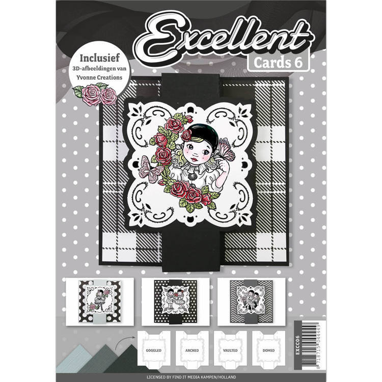 Card Deco - Excellent Cards - Book No. 06 - EXCC06