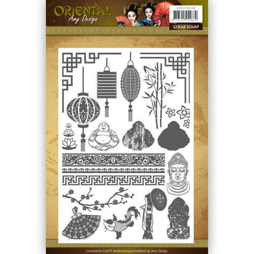 Amy Design - Clearstamp - Oriental - ADCS10040