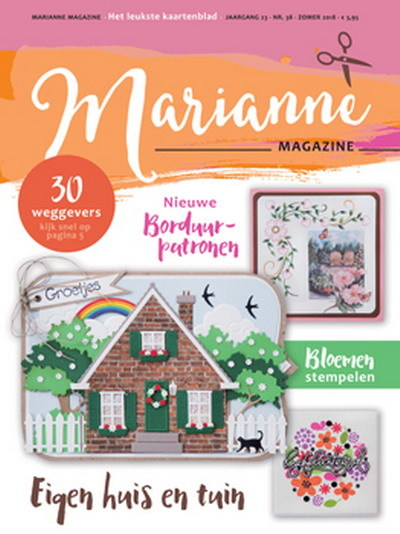 Marianne Design - Marianne Doe - Magazine No. 38 - DOE38