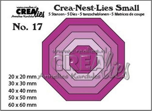 Crealies - Die - Crea-Nest-Lies Small - Achthoek - CNLS17