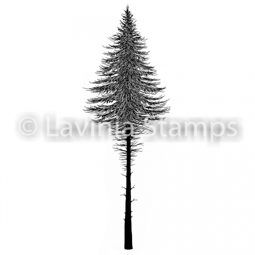 Lavinia Stamps - Clearstamp - Fairy Fir Tree 2 - LAV477