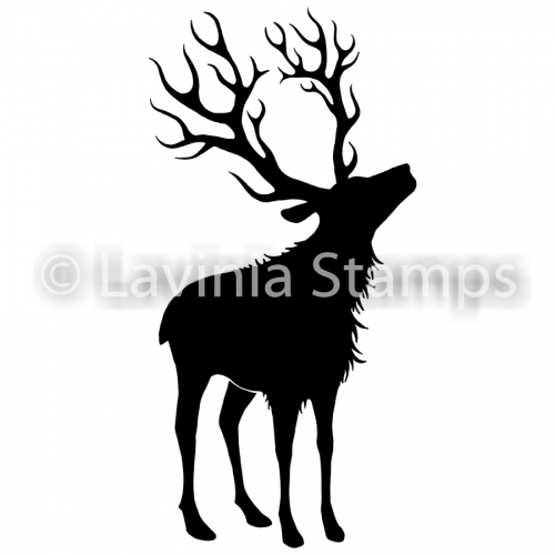 Lavinia Stamps - Clearstamp - Reindeer (large) - LAV481