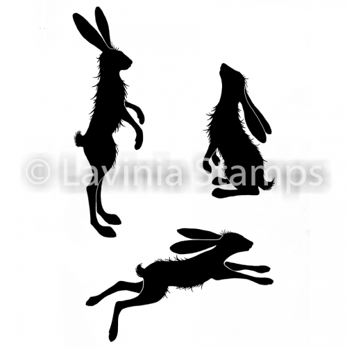 Lavinia Stamps - Clearstamp - Whimsical Hares - LAV482