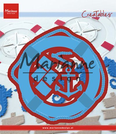Marianne Design - Die - CreaTables - Nautical set - LR0532