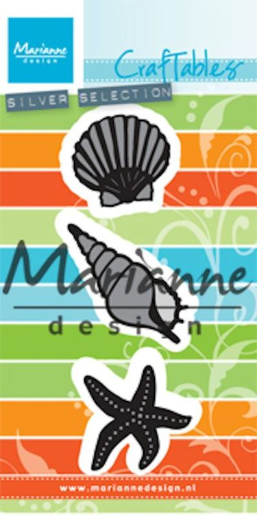 Marianne Design - Die - Craftables - Sea shells - CR1440