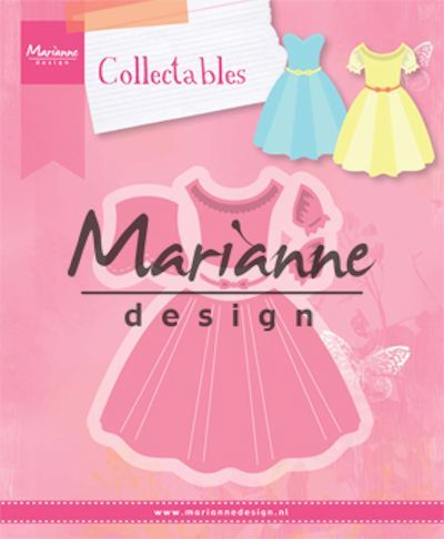 Marianne Design - Die - Collectables - Dress - COL1452