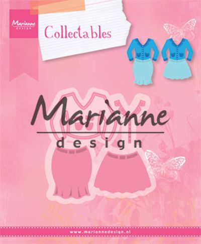 Marianne Design - Die - Collectables - Lady's suit - COL1453