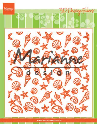 Marianne Design - Design Folder - Sea shells - DF3448