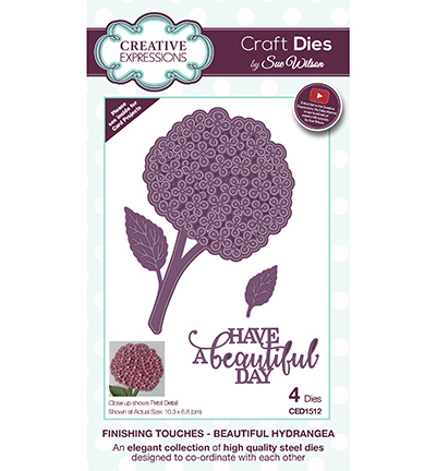 Creative Expressions - Die - The Finishing Touches Collection - CED1512