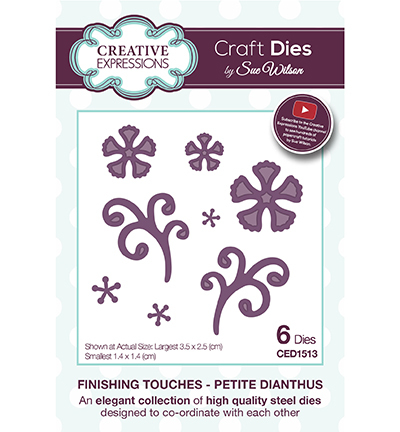 Creative Expressions - Die - Frames & Tags - Petitw Dianthus - CED1513