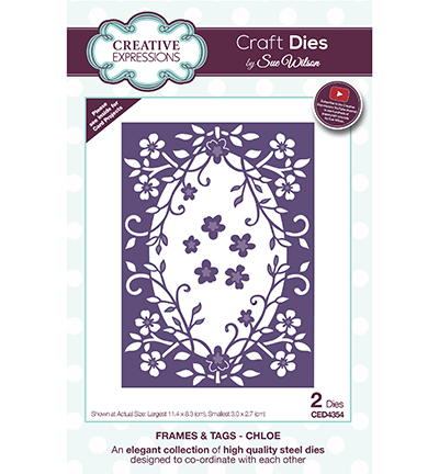 Creative Expressions - Die - Frames & Tags - Chloe - CED4354